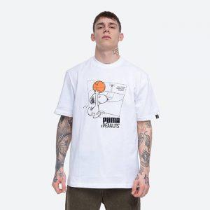 חולצת T פומה לגברים PUMA x Peanuts Tee - לבן