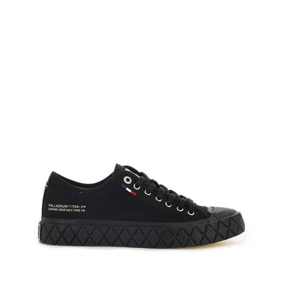 נעלי סניקרס פלדיום לגברים Palladium Palla Ace Canvas - שחור