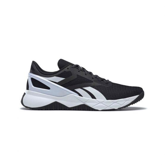 נעלי ריצה ריבוק לגברים Reebok Nanoflex Tr - שחור/לבן