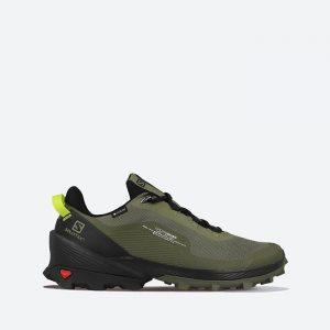 נעלי טיולים סלומון לגברים Salomon Cross Over GTX Gore-Tex - ירוק