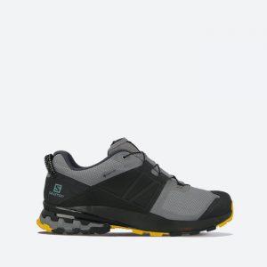 נעלי ריצת שטח סלומון לגברים Salomon XA Wild Gore-Tex GTX - אפור