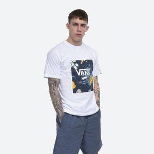 חולצת T ואנס לגברים Vans MN Classic Print Box - לבן