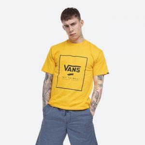 חולצת T ואנס לגברים Vans MN Classic Print Box - צהוב
