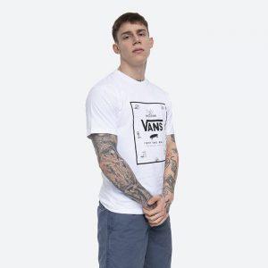 חולצת T ואנס לגברים Vans MN Classic Print Box - לבן/שחור
