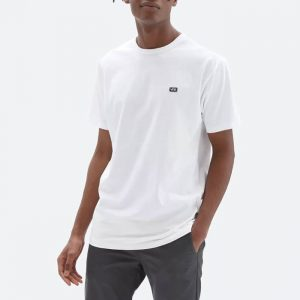 חולצת T ואנס לגברים Vans Off The Wall Classic - לבן