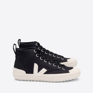 נעלי סניקרס ווג'ה לגברים Veja Nova Ht Canvas - שחור