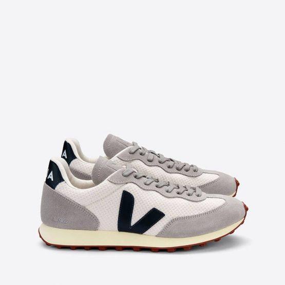 נעלי סניקרס ווג'ה לגברים Veja Rio Branco Hexamesh - לבן/אפור
