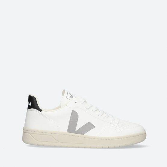 נעלי סניקרס ווג'ה לגברים Veja V-10 CWL - לבן הדפס