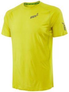 חולצת אימון אינוב 8 לגברים Inov 8 BASE ELITE SS - צהוב