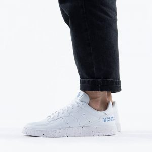 נעלי סניקרס אדידס לגברים Adidas Originals Supercourt - לבן