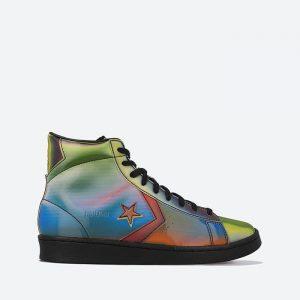 נעלי סניקרס קונברס לגברים Converse Pro Leather Celebrity Rivalry Pack  - צבעוני