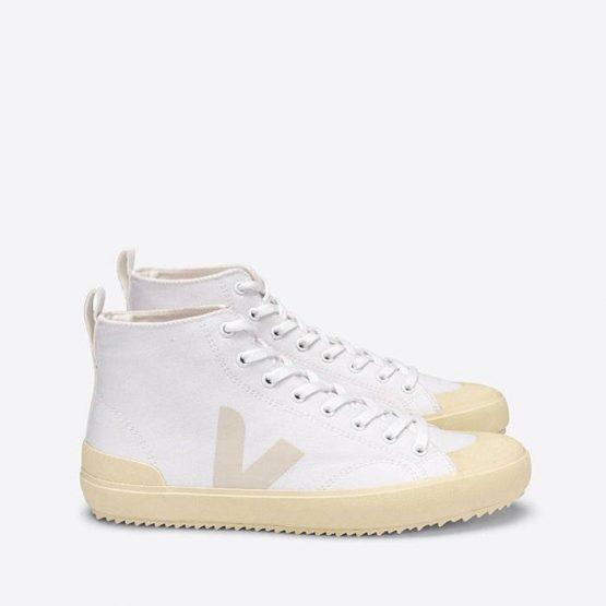 נעלי סניקרס ווג'ה לגברים Veja Nova Ht Canvas - לבן