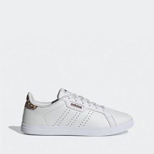 נעלי סניקרס אדידס לנשים Adidas Courtpoint Base - לבן