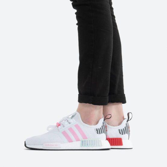 נעלי סניקרס אדידס לנשים Adidas Originals NMD_R1 - לבן