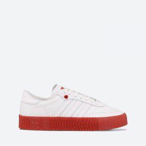 נעלי סניקרס אדידס לנשים Adidas Originals Sambarose Valentines Day - לבן/אדום