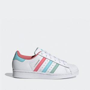 נעלי סניקרס אדידס לנשים Adidas Originals Superstar  2.0 - לבן