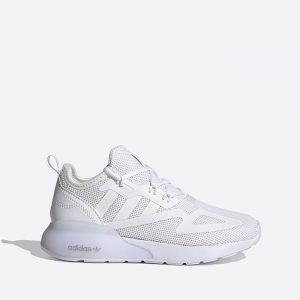 נעלי ריצה אדידס לנשים Adidas Originals Zx 2K Boost - לבן מלא