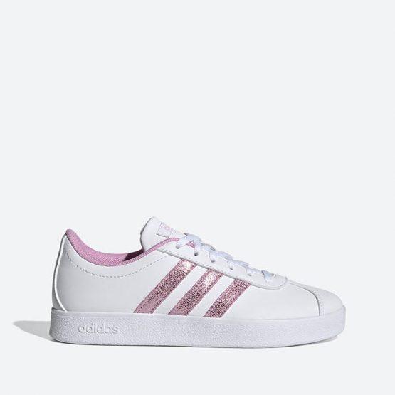 נעלי סניקרס אדידס לנשים Adidas VL Court 2.0 - לבן/סגול