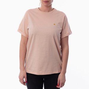 חולצת T קארהארט לנשים Carhartt WIP Chasy - ורוד