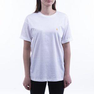 חולצת T קארהארט לנשים Carhartt WIP Chasy - לבן