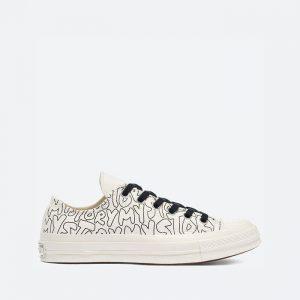 נעלי סניקרס קונברס לנשים Converse Chuck 70 My Story - לבן הדפס