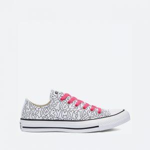 נעלי סניקרס קונברס לנשים Converse Chuck Taylor All Star My Story - שחור/לבן