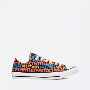 נעלי סניקרס קונברס לנשים Converse Chuck Taylor All Star My Story - צבעוני/שחור