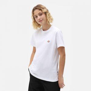 חולצת T Dickies לנשים Dickies SS Mapleton - לבן