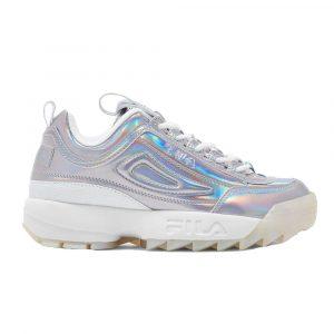 נעלי סניקרס פילה לנשים Fila Disruptor II IRI - אפור
