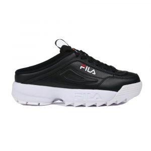 נעלי סניקרס פילה לנשים Fila Disruptor II Mule - שחור