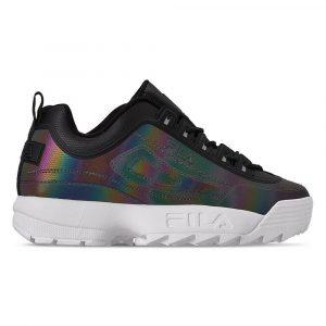 נעלי סניקרס פילה לנשים Fila Disruptor II Phase Shift - שחור
