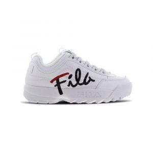 נעלי סניקרס פילה לנשים Fila Disruptor II Script - לבן