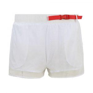 מכנס ספורט פילה לנשים Fila Short Logo - לבן