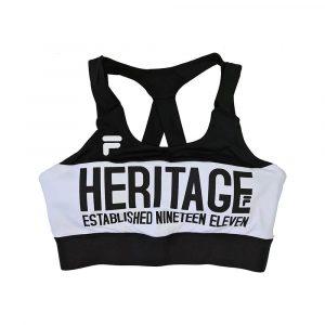 טופ וחולצת קרופ פילה לנשים Fila Sport Top - שחור