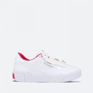 נעלי סניקרס פומה לנשים PUMA Cali Galentines - לבן/אדום