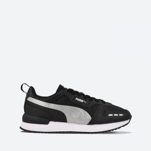 נעלי סניקרס פומה לנשים PUMA R78 Wmns Metallic FS - שחור