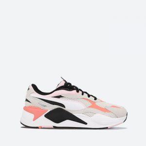 נעלי סניקרס פומה לנשים PUMA RS-X3 Twill AirMesh - צבעוני בהיר