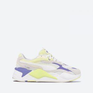 נעלי סניקרס פומה לנשים PUMA RS-X3 Twill AirMesh - לבן