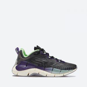 נעלי סניקרס ריבוק לנשים Reebok Zig Kinetica II - צבעוני כהה
