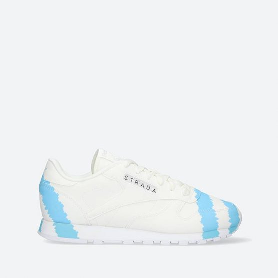 נעלי סניקרס ריבוק לנשים Reebok x Collina Strada Classic Leather - לבן