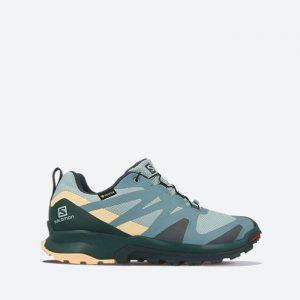 נעלי ריצת שטח סלומון לנשים Salomon XA Rogg GTX Gore-Tex - ירוק