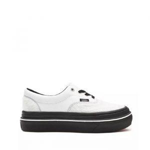 נעלי סניקרס ואנס לנשים Vans Super ComfyCush Era - לבן/שחור