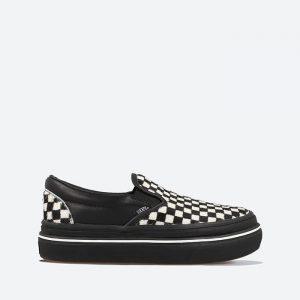נעלי סניקרס ואנס לנשים Vans Super ComfyCush Slip-On - שחור