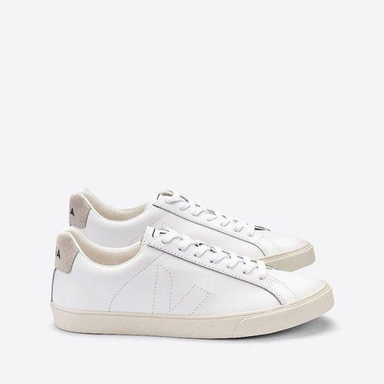 נעלי סניקרס ווג'ה לנשים Veja Esplar Leather - לבן