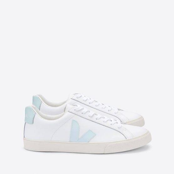 נעלי סניקרס ווג'ה לנשים Veja Esplar-Logo Leather - לבן