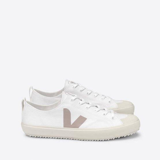 נעלי סניקרס ווג'ה לנשים Veja Nova Canvas - לבן