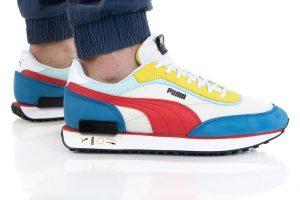 נעלי סניקרס פומה לגברים PUMA FUTURE RIDER ICONS - צבעוני/לבן