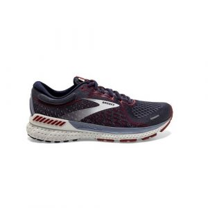 נעלי ריצה ברוקס לגברים Brooks Adrenaline GTS 21 - צבעוני כהה
