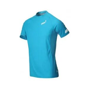 חולצת אימון אינוב 8 לגברים Inov 8 AT C BASE SS - תכלת