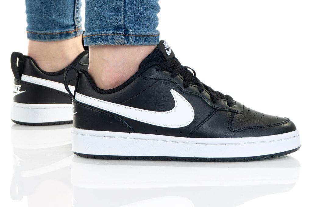 נעלי סניקרס נייק לנשים Nike COURT BOROUGH LOW 2 - שחור/לבן